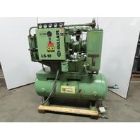 Sullair LS-10 40HP ACAC Rotary Screw Air Compressor 480V 120 Gallon 115/125PSI