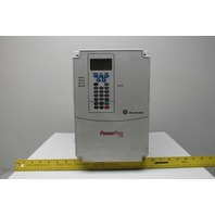 Allen Bradley 20A D 027 C 3 AYNANC0 Power Flex 70 15KW 20HP  AC Drive 480V Ser A