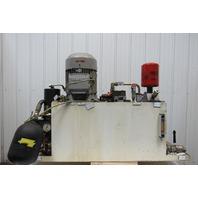 Werke Hydraulic Power Unit From a G200 CNC Lathe