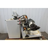 Heller MC16 5Hp Hydraulic Power Unit From a Working Machining Center 460V 3Ph