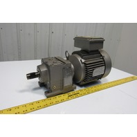 Sew Eurodrive R37DT90L4 5.67:1 Ratio 2Hp 230/460V 303RPM Inline Gear Motor