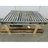 "39""x60"""" Belt Driven Live Roller Conveyor Drive Section 208-230/460V 3Ph 62FPM"
