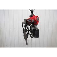 ARO 7756E-2C10-C6 1/2 Ton 1000lb  Air Pneumatic Chain Hoist 9' Lift 41FPM