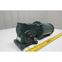 Reliance P14H1448 17Q10L14 10:1 Ratio 172RPM 1Hp 208-230/460V Gearmotor