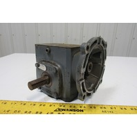 """Boston Gear F718-10-B5-H Gear Reducer 10:1 1.43HP 5/8"""" TO 7/8"""" Shaft 175RPM Out"""
