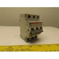 Eaton Cutler Hammer WMS3D10 DIN Rail Mount 3 Pole 10A Circuit Breaker