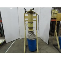K Tron Premier 5163-26 Pneumatic Conveying Vacuum Receiver Conveying System 2""