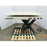 "Southworth 3500Lb Hydraulic Scissor Lift Table 48x42"" Turn Top 115V 1Ph"