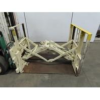 "Cascade 45E-PB-385 Push/Pull Fork Lift Attachment 4500 lb Cap. 48"" Slip Sheet"