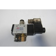 Clippard MME-32QES 3/2 Position 24V Solenoid Operated Air Valve