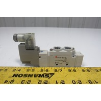 SMC SY7120-5DZ-02T-X10 5/2 Position Solenoid Operated Air Valve 24VDC Coil