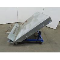 Material Handling Pallet/Basket Tilter/Upender Cart 45° Tilt Manual Operation