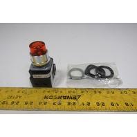 Allen Bradley 800TC-QBH2A 30mm Momentary Push Button Illuminated Amber 12-130V