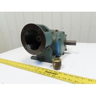 Reliance 140CM21A Master XL Right Angle C-Face Gear Box Speed Reducer 60:1 Ratio