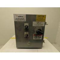 """10"""" x 12"""" x 8"""" Electrical Enclosure W/ 480V 1Hp Starter Disconnect"""