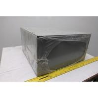 "Wiegmann SC121206NK 12"" x 12""  6"" NEMA 1 Electrical Junction Box Enclosure"