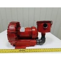 Gast R4310A-2 Regenair Blower Vacuum 1HP 3450RPM 208-230/460V 3Ph
