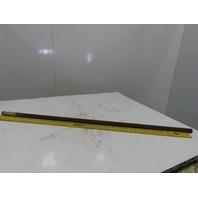 """1"""" Steel Full Length Keyed Shaft For 1/4"""" Key 47-3/4"""" OAL"""
