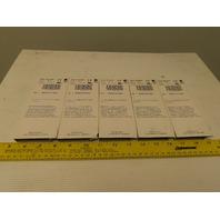 Allen Bradley 1734-TB 10A 120/240VAC 8 Screw Terminal Base DIN Rail Mount Lot/5