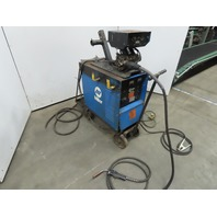 Miller CP300 Welder W/Millermatic S-52E Wire Feeder & Tweco Mig Gun Works Good