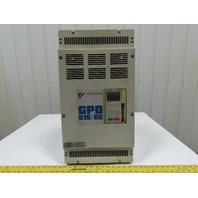 Magnetek GPD515C-B041 CIMR-G5M4018 30HP Motor Drive 380-460V 46AIn 0-460V 41AOut