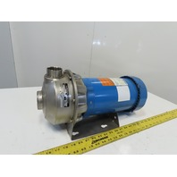 Goulds 3ST1H5A4 3Hp Stainless Steel Centrifugal Pump 1-1/2x2-6 208-230/460V 3Ph