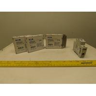 Eaton Cutler Hammer WMZS1D02 2A 1 Pole Circuit Breaker DIN Rail Mount Lot of 3