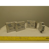 Eaton Cutler Hammer WMZS1D01 1A 1 Pole Circuit Breaker DIN Rail Mount Lot of 3