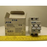Eaton Cutler Hammer WMZS2D10 10AMP 2 Pole Circuit Breaker DIN Rail Mount