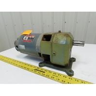 LM0-58 1/2HP Inline Gear Motor 208-220/440 3Ph 58:1 Ratio