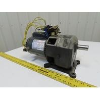 LM0-40 1/3HP Inline Gear Motor 115/230 1Ph 40:1 Ratio
