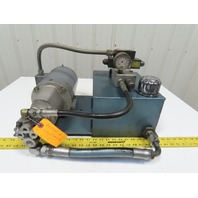 Barker Products 5Hp  3 Gallon Hydraulic Power Unit Webster Pump 208-230/460V 3PH