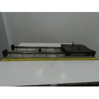 "48"" X24"" Linear Rail Slide Assembly (X) (Y) Axis 1"" Round Rails"