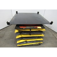 """Presto 5002721 Automatic Load Leveler W/Carousel Scissor Lift Table 10""""-31"""" Lift"""