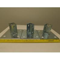 """Flex Strut FS-5814 6"""" x 6"""" Strut Post Base Lot Of 3"""