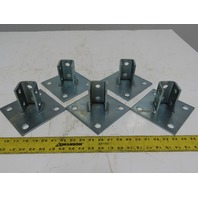 "Flex Strut FS-5814 6"" x 6"" Strut Post Base Lot Of 5"