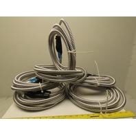 Reloc OC2 480 12/2G 15 480V 2 Port Cable Conduit Plug Connector 15' Lot Of 6