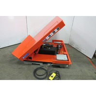 "Advance TT-448  4000Lb. Lift/45° Tilt Table 57x51"" 460V 3Ph"