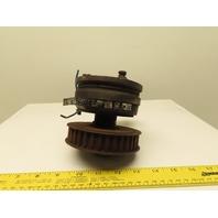 """Warner EC-375 Electro-Clutch 90VDC 5000 RPM 16ft/Lb. Torque 5/8"""" Bore"""