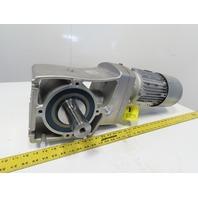 Nord SK90LH/4 BRE20 HL 21.14:1 Ratio 82RPM 2Hp 230/460V 50/60Hz LH Gear Motor