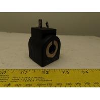 Parker 7D100C2 16 1SHF7 24VDC Solenoid Coil