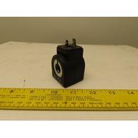 Parker 7D100C2 17 1SHF7 24 VDC Solenoid Coil