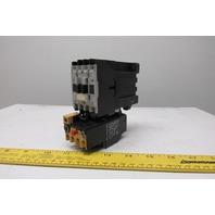 Allen Bradley 100-A09NZ*3 Ser B Magnetic Contactor 24VDC Coil 193-BSB60 Overload