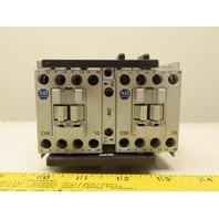Allen Bradley 104-C09ZJ22 Ser A Reversing Contactor 24VDC Coil