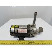 "Dayton 4TE62 3/4Hp 3450RPM 1Hp 115/230V 1-1/4""x1"" Centrifugal Pump"