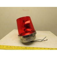 Edwards 52R-N5-40WH ADAPTABEACON VISUAL SIGNALING APPLIANCE 120V Red