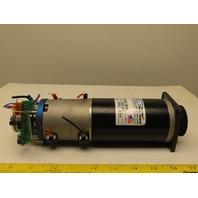 Cleveland Motion Control MT2630-163AF PM Servo Motor W/ 24VDC Encoder 8mm Shaft