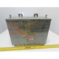 Cutler Hammer Y48D28T09N 480V Pri 208/120V Sec 3Ph 60Hz 3R Class 180 Transformer