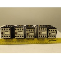 Siemens 3TB40 10 0A Electric Contactor motor starter 600V Lot of 5