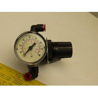 "Watts Fluidair R374-01BG Pneumatic Regulator 0-60 PSI 1/8"" NPT W/Gage"